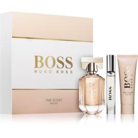 Hugo Boss Boss The Scent confezione regalo II  latte corpo 50 ml + eau de parfum 50 ml + eau de parfum 7,4 ml