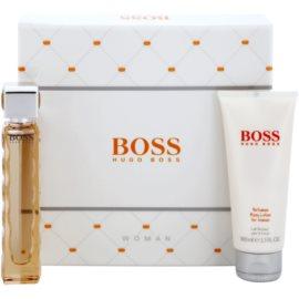 Hugo Boss Boss Orange dárková sada VI.  toaletní voda 50 ml + tělové mléko 100 ml