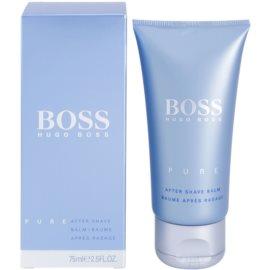 Hugo Boss Boss Pure balzám po holení pre mužov 75 ml