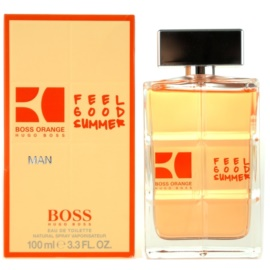 Hugo Boss Boss Orange Man Feel Good Summer Eau de Toilette pentru barbati 100 ml