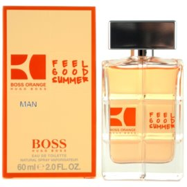 Hugo Boss Boss Orange Man Feel Good Summer Eau de Toilette pentru barbati 60 ml