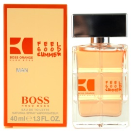Hugo Boss Boss Orange Man Feel Good Summer woda toaletowa dla mężczyzn 40 ml
