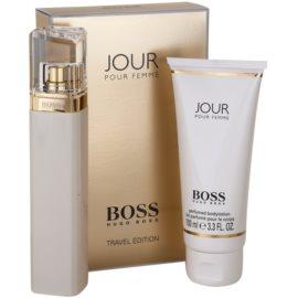 Hugo Boss Boss Jour darilni set II. parfumska voda 75 ml + losjon za telo 100 ml
