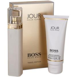 Hugo Boss Boss Jour set cadou II.  Eau de Parfum 75 ml + Lotiune de corp 100 ml