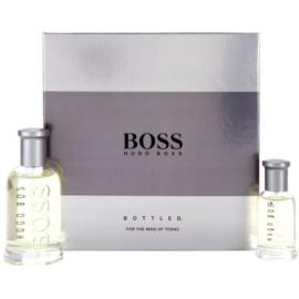 Hugo Boss Boss Bottled подаръчен комплект XI. тоалетна вода 100 ml + тоалетна вода 30 ml