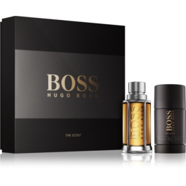 Hugo Boss Boss The Scent darilni set III. toaletna voda 50 ml + Deo-Stick 75 ml