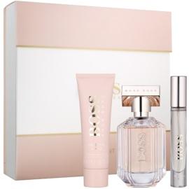 Hugo Boss Boss The Scent dárková sada II.  tělové mléko 50 ml + parfémovaná voda 50 ml + parfémovaná voda 7,4 ml