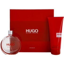 Hugo Boss Hugo Woman Gift Set II.  Eau De Parfum 75 ml + Body Milk 200 ml