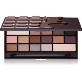 I Heart Revolution Chocolate paleta de sombras de ojos tono Death by Chocolate 22 g