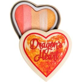 I Heart Revolution Dragons Heart iluminador para ojos y pómulos  10 g