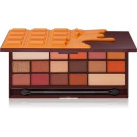 I Heart Revolution Chocolate paleta de sombras de ojos tono Chocolate Orange 22 g