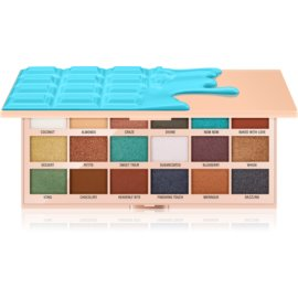 I Heart Revolution Chocolate paleta de sombras de ojos tono Macaroons 22 g