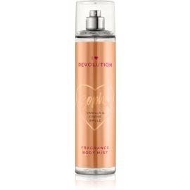 I Heart Revolution Body Mist osvežujoče pršilo za telo za ženske z vonjem Vanilla & Crème Brule 236 ml