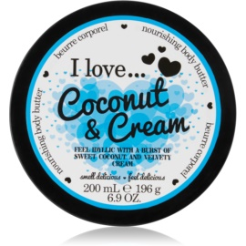 I love... Coconut & Cream Körperbutter  200 ml