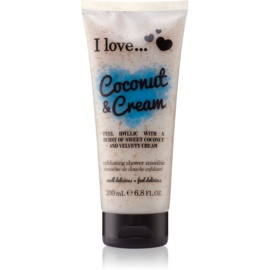 I love... Coconut & Cream piling za prhanje  200 ml