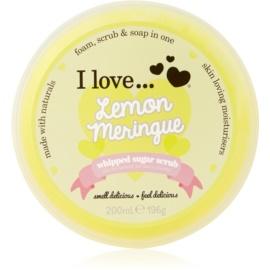 I love... Lemon Meringue sladkorni piling  200 ml