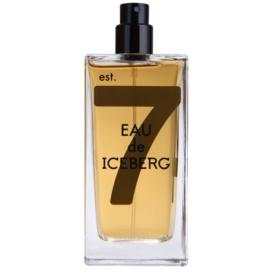Iceberg Eau de Iceberg Amber toaletní voda tester pro muže 100 ml