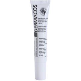 Ideepharm Dermacos Freckles Skin Discoloration aufhellendes Serum Für hyperpigmentierte Haut  15 ml