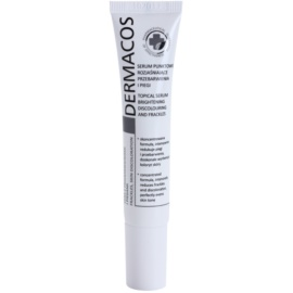 Ideepharm Dermacos Freckles Skin Discoloration sérum iluminador para pieles hiperpigmentadas  15 ml