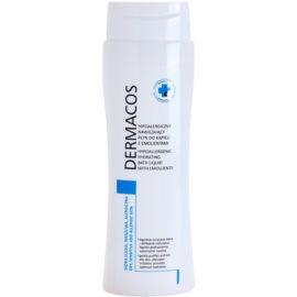 Ideepharm Dermacos Dry Sensitive Allergic Skin espuma de baño hidratante hipoalergénica para dejar la piel suave y lisa  400 ml