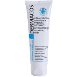 Ideepharm Dermacos Dry Sensitive Allergic Skin hypoallergene Gesichtsmaske Feuchtigkeit spendend  50 ml