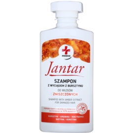Ideepharm Medica Jantar šampon na poškozené vlasy  330 ml