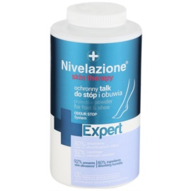 Ideepharm Nivelazione Expert zásyp na nohy a do topánok proti zápachu a poteniu  110 g