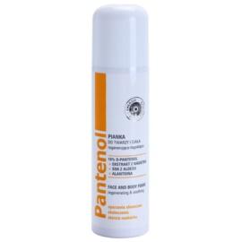Ideepharm Panthenol nyugtató hab arcra és testre  150 ml