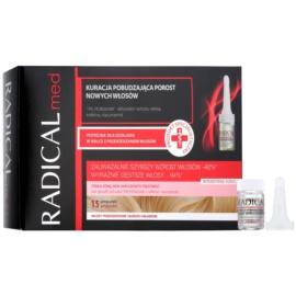 Ideepharm Radical Med cuidado para estimular o crescimento do cabelo  15x5 ml