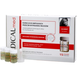 Ideepharm Radical Med Anti Hair Loss Treatment Serum To Treat Losing Hair For Women  15x5 ml