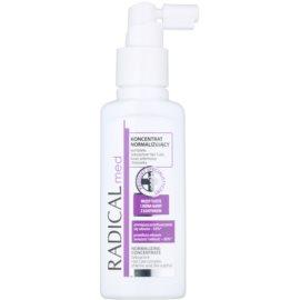 Ideepharm Radical Med Normalize concentrado para cabelo e couro cabeludo oleosos  100 ml