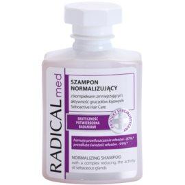 Ideepharm Radical Med Normalize šampon pro mastné vlasy a vlasovou pokožku  300 ml