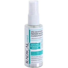 Ideepharm Radical Med Psoriasis cuidado calmante profissional para pele com psoríase  50 ml