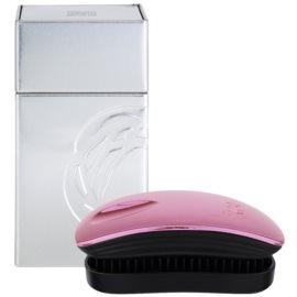 ikoo Metallic Pocket cepillo para el cabello Rose Black