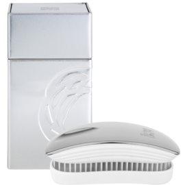 ikoo Metallic Pocket Hair Brush Oyster White