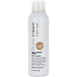 Inebrya Argan-Age weichmachendes Spray mit Glanzeffekt gegen strapaziertes Haar  200 ml