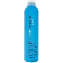 Inebrya Curly šampon za valovite lase in lase s trajno ondulacijo  300 ml
