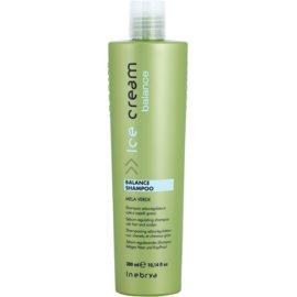 Inebrya Ice Cream Balance šampon na regulaci kožního mazu  300 ml