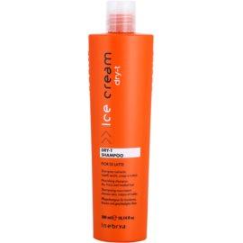 Inebrya Ice Cream Dry-T vyživující šampon pro suché a poškozené vlasy  300 ml