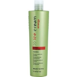Inebrya Ice Cream Energy szampon przeciw wypadaniu włosów  300 ml