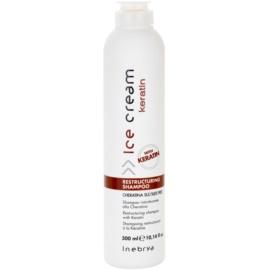 Inebrya Keratin restrukturalisierendes Shampoo mit Keratin  300 ml