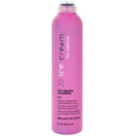 Inebrya No-Yellow šampon neutralizující žluté tóny  300 ml