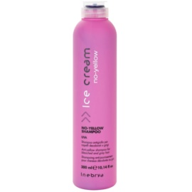 Inebrya No-Yellow Shampoo neutralisiert gelbe Verfärbungen  300 ml