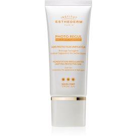 Institut Esthederm Photo Regul cuidado unificante para a pele com hiperpigmentação de alta proteção UV   50 ml
