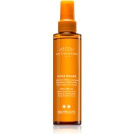 Institut Esthederm Sun Care olje za sončenje za telo in lase s srednjo UV zaščito  150 ml