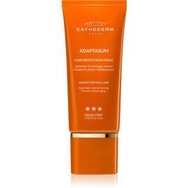 Institut Esthederm Adaptasun Sonnencreme fürs Gesicht hoher UV-Schutz 50 ml