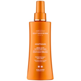 Institut Esthederm Adaptasun Beschermende Zonnebrandmelk in Spray  met Medium UV Bescherming   150 ml