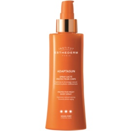 Institut Esthederm Adaptasun Beschermende Zonnebrandmelk in Spray  met Hoge UV Bescherming   150 ml