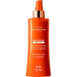 Institut Esthederm Adaptasun Sensitive Protective Sunscreen Lotion Medium Sun Protection  200 ml