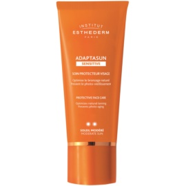 Institut Esthederm Adaptasun Sensitive Protective Face Cream Medium Sun Protection  50 ml